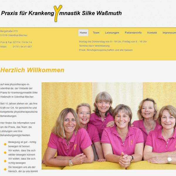 Physiotherapie in Odenthal